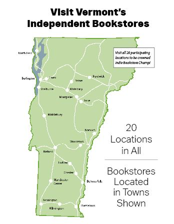 Visit Vermont's Independent Bookstores | The Vermont Book Shop